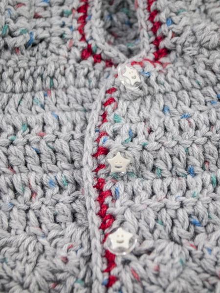 Ζακέτα παιδική Bubble | R&M atellier υψηλής ποιότητας χειροποίητα ρούχα