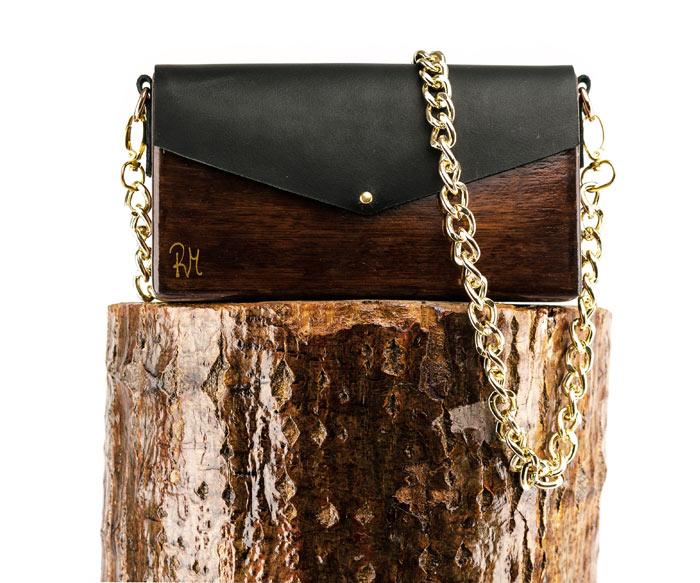 Handmade Wooden Bags | R&M atellier.gr