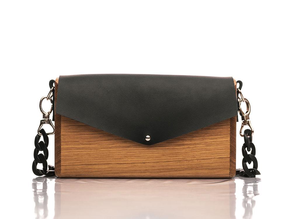 Χειροποίητη ξύλινη τσάντα Αθηναϊς   R&M atellier.gr   Ξύλινες τσάντες